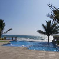 APARTAMENTO con hermosa vista al mar, hotel em Crucita