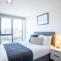 Great Central 2 Bed Apartment & Free Parking by Opulent Living Serviced Accommodation Sheffield