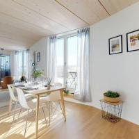 Magnificent modern and bright attic apartment in the city center #71