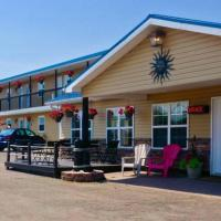 Parlee Beach Motel, hotel em Shediac