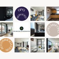 2 Bedroom Apartment at GPG Serviced Accommodation Essex - Executive City Centre Apartment, hotel in Chelmsford