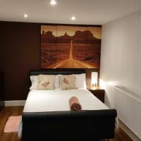 Peaceful Studio;En-suite pvt Garden free parking