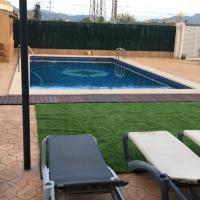 Casa de invitados con piscina privada y WIFI