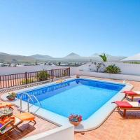 Villa with 3 bedrooms in Nazaret with wonderful sea view private pool enclosed garden