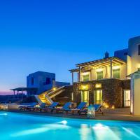 Andromeda Infinity Pool Villa, hotel in Fanari