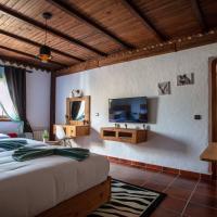 Room in Bungalow - Triple Bungalow 6 - El Cortijo Chefchaeun Hotel Spa