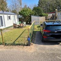 Relax huisje is een luxe huisje met een vaatwasser en zeer snel WIFI 5G en voorzien van een nieuwe keuken en badkamer