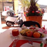 Hotel Villarosa con Vespa Rent