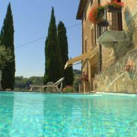 Hotel Vecchia Oliviera, отель в Монтальчино