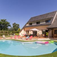 Maison de 5 chambres a Le Val Saint Pere avec piscine partagee jardin clos et WiFi a 15 km de la plage
