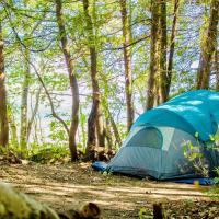 Camping de la Pointe, hotel em Saint Francois De I'lle d'Orleans