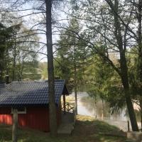 Nye hytta,Holmfoss/Kvelde, hotell i Larvik