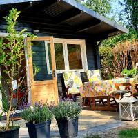 Tiny House in mooie tuin