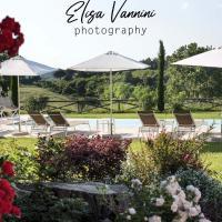 Bilocale di Villa S Marco con piscina, hotell i Soianella