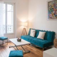 Bright flat near Paris, viešbutis mieste Šaranton le Ponas