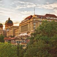 Hotel Bellevue Palace Bern, отель в Берне
