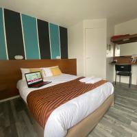 Fasthotel Tours Nord、Parçay-Meslayにあるトゥール・ロワールバレー空港 - TUFの周辺ホテル