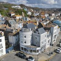 Double room with balcony in old town hastings