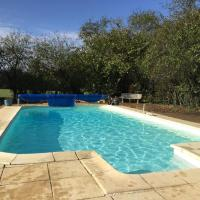 Detached period cottage with private pool