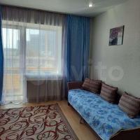 Уютная квартира-студия с отдельной спальней