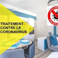 Zen Studio Les Thermes - Challes Centre - Parking, hotel in Challes-les-Eaux