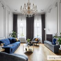 Атмосферные апартаменты на набережной 130м2 (4 сп)