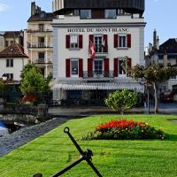 Romantik Hotel Mont Blanc au Lac, hotel in Morges