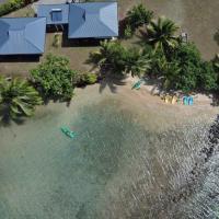 Le Neliza Beach Lodge Raiatea, hotel in Opoa