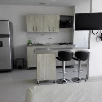 Moderno y confortable apartamento tipo loft, hotel en Itagüí