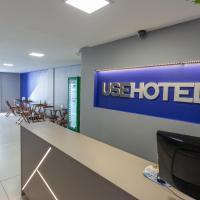 USEHOTEL - A uma quadra do complexo hospitalar Santa Casa - Estacionamento gratuito