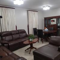 2 Bed Furnished apartment with Garden and Parking
