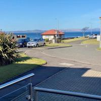 Largs sea front, completely refurbished