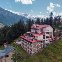 Hotel Snowcrests Manor, hotel in Manāli
