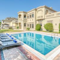 Signature 7BR Villa in Frond F Palm Jumeirah by Deluxe Holiday Homes