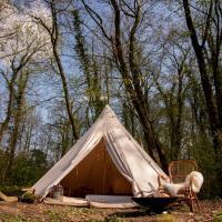 RØSTIG pop-up camping