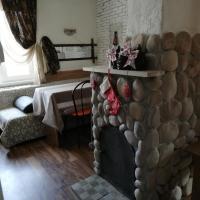 Уютный дом с камином в Абзаково