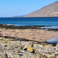 The bay ,luxury shepherds hut,