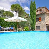 San Sano Villa Sleeps 8 Pool Air Con WiFi, hotel a San Sano