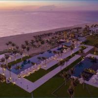 Ocean View Suit Apartment one bed room ALMA Resort for 4 people, hotel in Dien Khanh