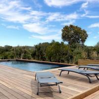 Adorable villa avec piscine privée chauffée au coeur du maquis