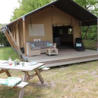 Glamping Holten luxe safaritent 1