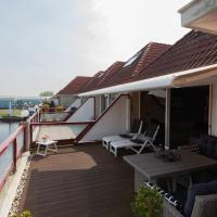 Waterfront Holiday Home in Hasselt with Balcony