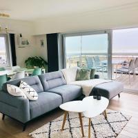 Luxueus appartement met ruim terras, frontaal zeezicht 4 à 5 personen