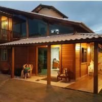 Casa de madeira, Rústica , moderna., hotel in Mucuri