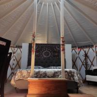 Yurt, romântico e luxuoso, natureza e cachoeiras