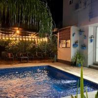 Casa Vacacional con Piscina Privada en Santa Fe de Antioquia, hotel in Santa Fe de Antioquia