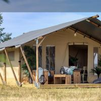 Luxurious Safari tent - two bed self contained pod