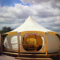 Stunning Lotus tent self contained luxury sleeps 6