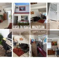 Comoda casa en Mazatlan