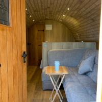 Brand new to Sheppey Hobbit style glamping pod